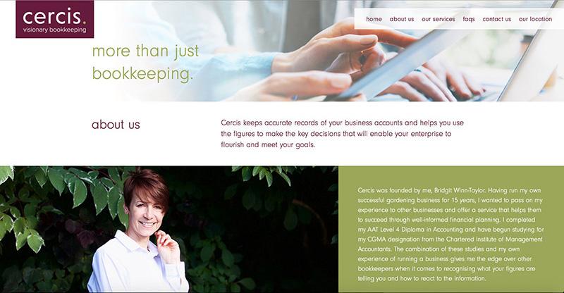 Cercis website content