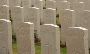 World War I graves