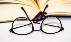 A pair of glasses for word of the week