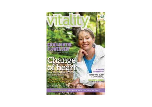 Vitality magazine cover